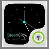Green Glow GO Locker Theme 1.0