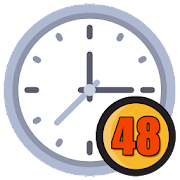 48 Hour Clock - Time Management, Reminder 1.0
