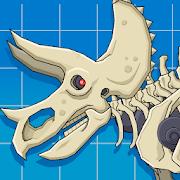 Triceratops Dinosaur Fossil Robot Age 1.0