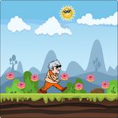 Grandmother Running