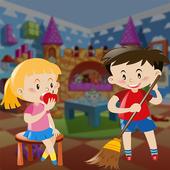 Kids House Cleanup - Keep Home Clean 1.0.3