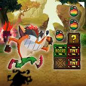 Adventure Bandicoot in crazy jungle 3.0
