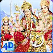4D Maa Durga Live Wallpaper 11.3