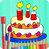 Coloring cake for kids 1.02