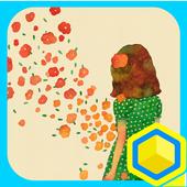 흩날리다 : 카카오홈 테마 1.0
