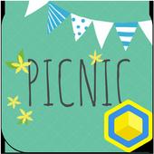 해피 피크닉 - 카카오홈 테마 1.0