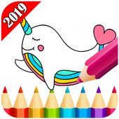 Kawaii Coloring Book For Adult 2019 4.0