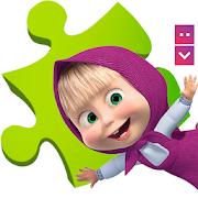 Masha and The Bear Puzzle GameKB ProPuzzleBrain Games