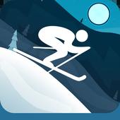 Whistler's Run - Alpine Skier