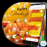 Thanksgiving SMS Go Theme 1.2