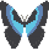 Pixel Art - Coloring Butterfly 1.1