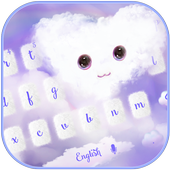 Fluffy Love Cloud Theme for Keyboard 10001004