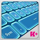 Keyboard Plus Neon Blue 1.9