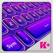 Keyboard Plus Violet Theme 1.9