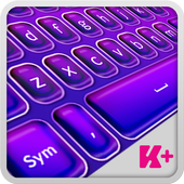 Keyboard Plus Violet Theme 1.0.5