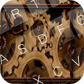 Steampunk Keyboard Theme Emoji 1.6