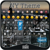 New York Emoji Keyboard Theme 1.0