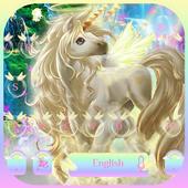 Rainbow unicorn Keyboard theme 10001005