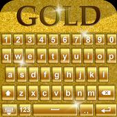 Gold Keyboard Theme 1.1