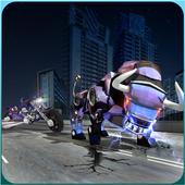 Angry Bull Attack Robot Transforming: Bull Games 1.3