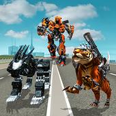 Multi Robot Transform Police Dog, Tiger & Wildcat 1.1