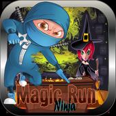 Ninja heroes-Black magic run