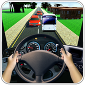 Driving in Bus Racing 3D 1.0
