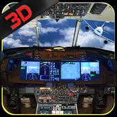 Airplane Driving Simulator 3DKidsFunGamesAction
