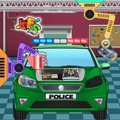 Police Car Factory: Cars Maker and Builder Fix It 1.0