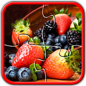 Fruit Jigsaw Puzzles Brain Games for Kids FREE 2.0.1