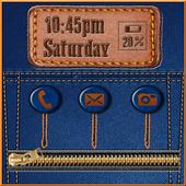 Jeans Zipper Lock Screen 1.0