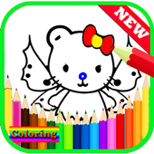 Coloring Book For Princess Kitty Cat Kids 2.0.0