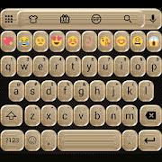 Glitter Gold Emoji Keyboard 2.0