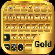Gold Emoji Keyboard Theme 1.1.5