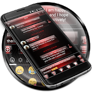 SMS Messages Dusk Red 2.0
