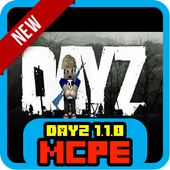 New DayZ 1.1.0 for MCPE 1.1