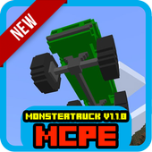 NEW MonsterTruck 1.1.0 for MCPE 1.1
