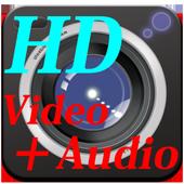 無音 HD ビデオカメラ ( 高画質、写真も同時撮影可能) 3.93