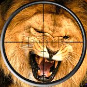 Lion Hunting Sniper Shooting