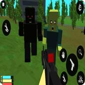 Zombies Survival : PixelGun 4