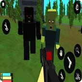 Zombies Survival : PixelGun 4