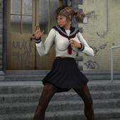 Schoolgirl Fighting Game 3