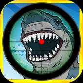 Funny Shark Sniper Smash Arena 1.2