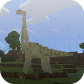 Jurassic Craft addon for MCPE 1.0