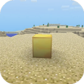 Lucky Gold Block Mod for MCPE 1.0
