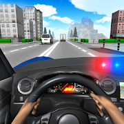 Police Driving In Car 3