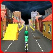Highway Bike Run: Endless BMX Rider