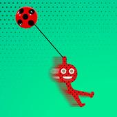 Ladybug Stickman Swing Hook : Jump Like a Spider 2