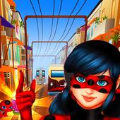 com.ladybugrunnermiraculousgamesadventures.ladybugrunaventurasworldcatnoi2 icon