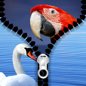 Birds Zipper Lock Screen 1.2